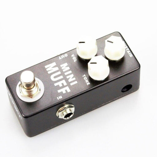 MOSKY MINI MUFF01 Fuzz Guitar Effect Pedal Harmonic Distortion/Sustainer Pedal True Bypass Full Metal Shell Guitar Accessories