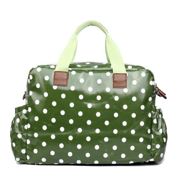 L1501D2 - Miss Lulu Maternity Baby Changing Bag Polka Dot