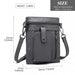LB6933 - Miss Lulu Multi Compartment Cross Body Shoulder Bag