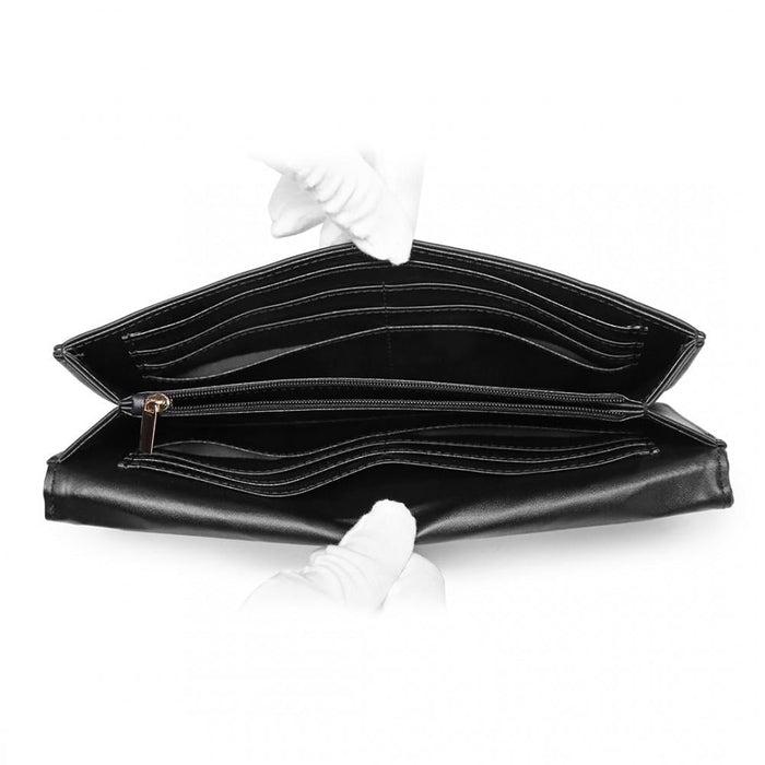 LP6909 - Miss Lulu Multi Use Purse Clutch Mini Shoulder Bag