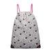 E1406-UN - Miss Lulu Unicorn Print Drawstring Backpack -
