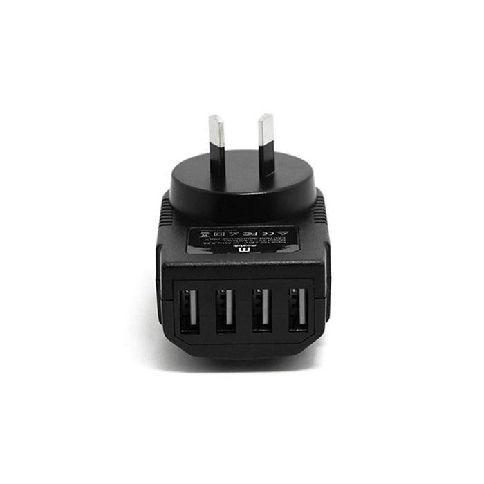 Mozbit 3.4a 4-port Usb Wall Charger - Electronics > Battery