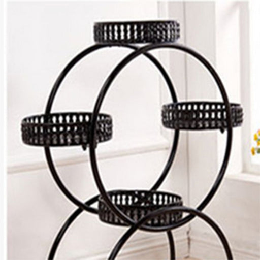 Multi Storey Flower Shelf Rack Flower Stand Green Balcony Living Room Flower Pots Flower Stand With Mounting Kits