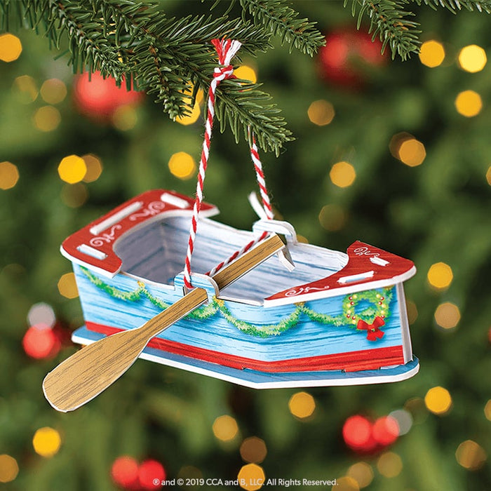 Orna-Moments Holiday Rowboat goslash fast delivery fast delivery