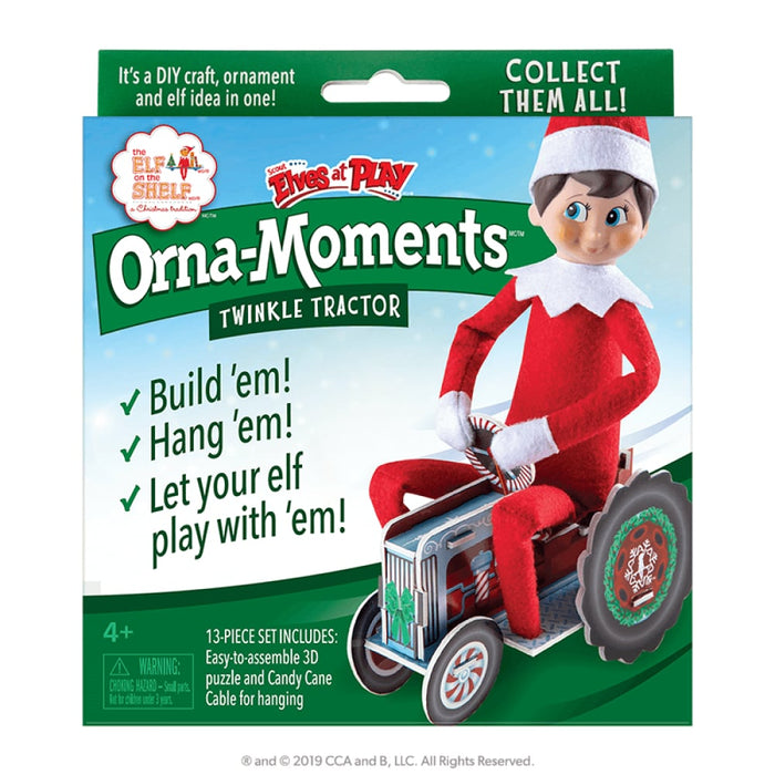 Orna-Moments Twinkle Tractor goslash fast delivery fast delivery
