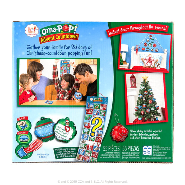ORNA-POP!™ ADVENT COUNTDOWN goslash fast delivery fast delivery