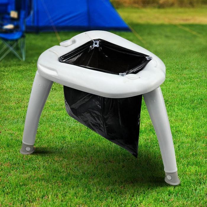 Outdoor Portable Folding Camping Toilet - Outdoor > Camping