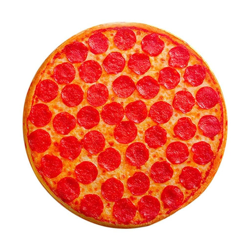 Creative Simulation Tricky 3D Pillow Plush Pillow Flapjack Funny Pepperoni Pizza Junk Food Hipster Print Cool Pizza Butt Pillow