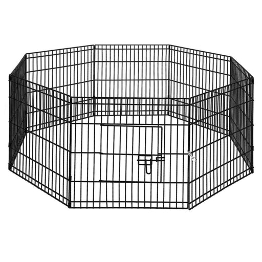 """i.Pet 24"""" 8 Panel Pet Dog Playpen Puppy Exercise Cage Enclosure Play Pen Fence"""