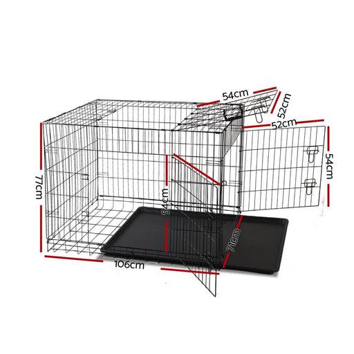 I.pet 42inch Pet Cage - Black - Pet Care > Dog Supplies