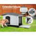 I.pet Extra Extra Large Pet Kennel - Grey - Pet Care > Dog