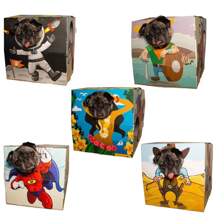 Pet Photo Booth Frame | 5 Scenes goslash fast delivery fast delivery