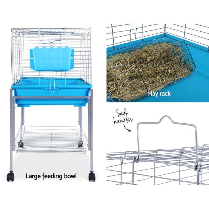 I.pet Rabbit Cage Hutch Cages Indoor Hamster Enclosure