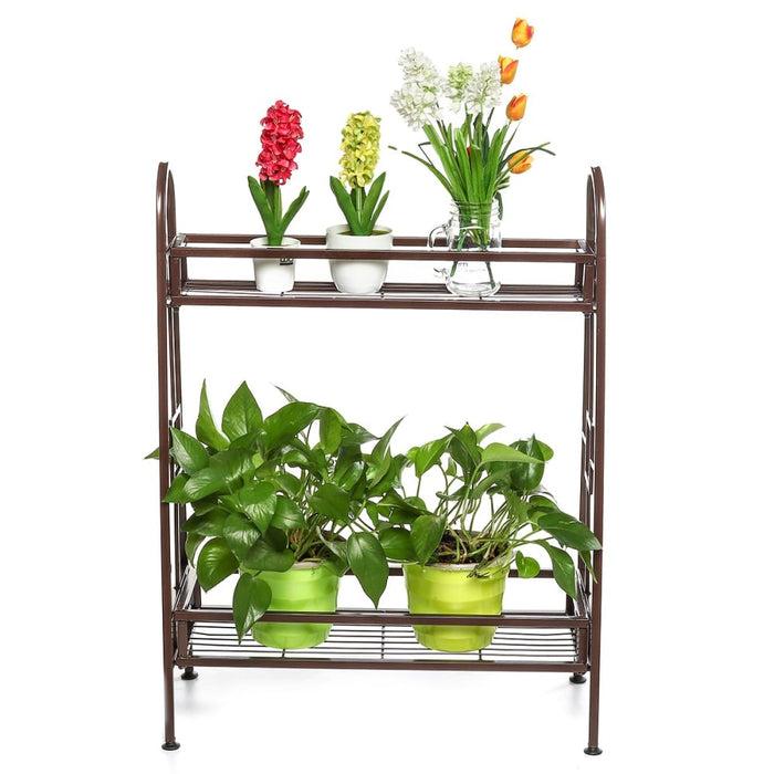 Plants Stand Flower Rack Metal Flower stand Indoor Plant Shelves Plants Stand Garden Ornaments Indoor Outdoor