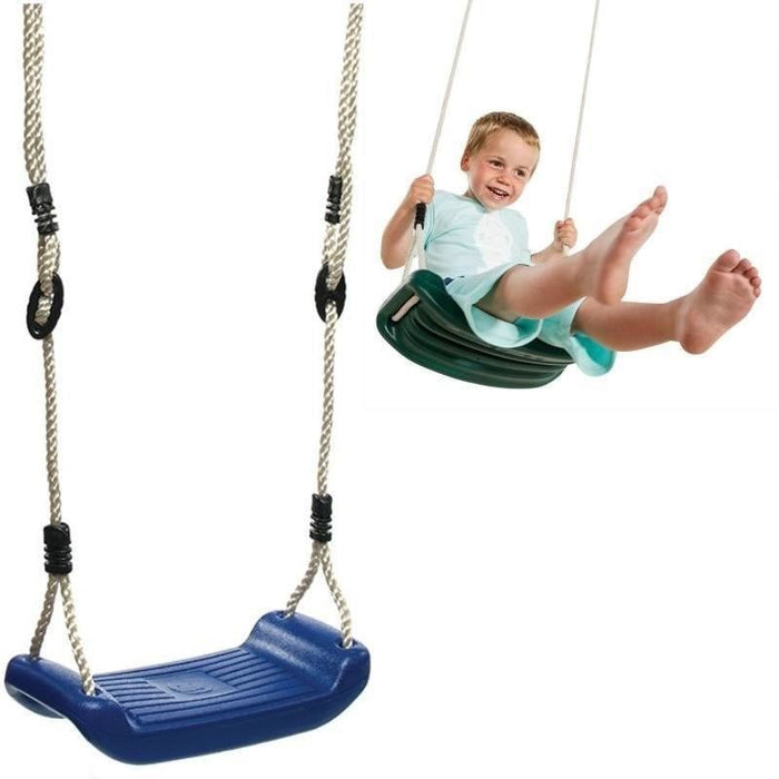 Plastic Blow Moulded Swing Seat   Random Colour Selection goslash fast delivery fast delivery