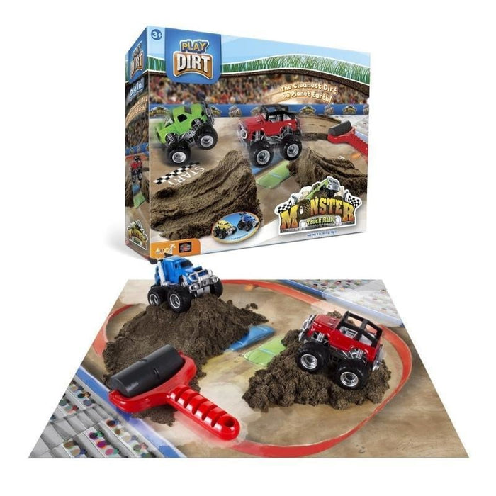 Play Dirt Monster Truck Rally Box Set goslash fast delivery fast delivery