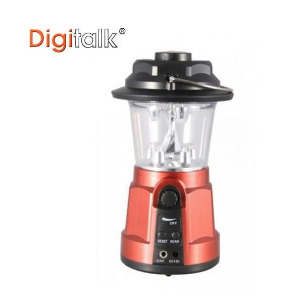 Portable Dynamo Led Lantern Radio with Built-in Compass -