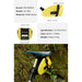 Portable Rainproof TPU Folding Big Capacity Pocket Bag