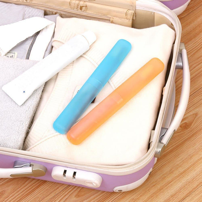 Portable Travel Toothbrush Holder (Pack of 4 ) goslash fast delivery fast delivery