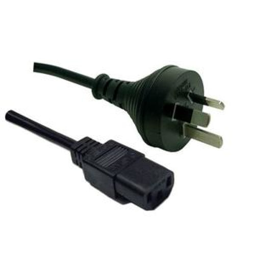 Power Cord 10A/250V IEC (F) to 3 Pin Power (M) 1.8m Cables -