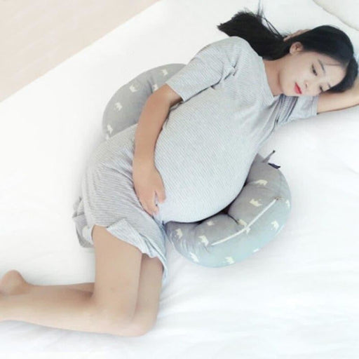 Pregnant mother pillow Multifunctional waist to sleep Comfort breathable pressure release pregnant women Queen pillow cushion