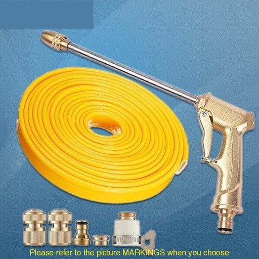 Pressure Hose Water Gun Nozzle Set High Pressure Cleaner Car Care Portable Home Wash Gardening Tools Nozzles Watering