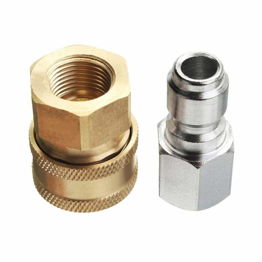 Pressure Washer Quick Release Adapter 3/8 Inch 14.8mm Coupling Connector Set