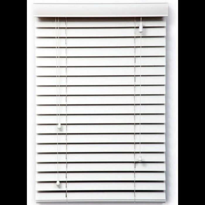 PVC Venetian Indoor Blind- White goslash fast delivery fast delivery