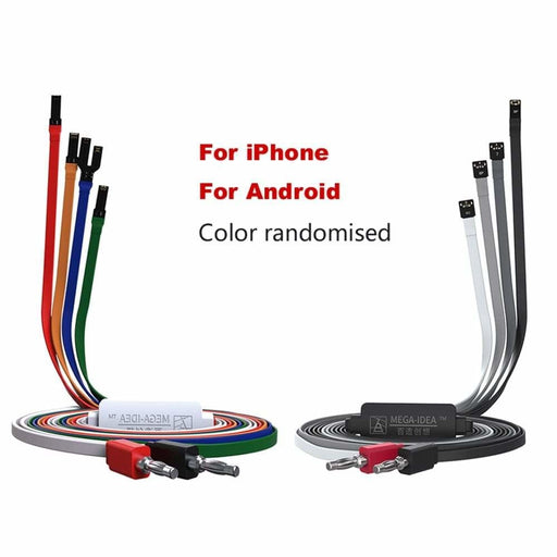 QIANLI Mobile Phone Power Cord for IOS Android HUAWEI XIAOMI VIVO OPPO One Button Activation Cable Maintenance Line