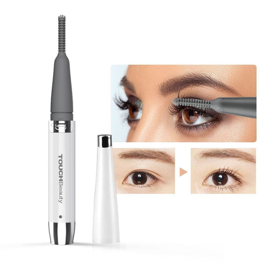 TOUCHBeauty Rechargeable 360 rotating portable eyelash curler, electric heated eyelashes curler for women makeup tools TB-1218