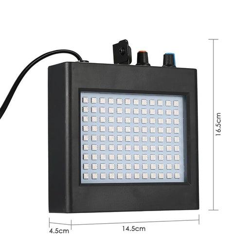 Remote 108 Led Rgb Strobe Stage Lighting Effect Sound