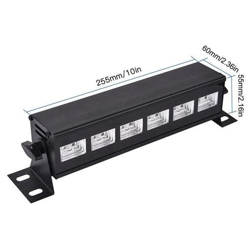 Remote Control Dmx Led Uv Stage Light Ultraviolet Black - AU