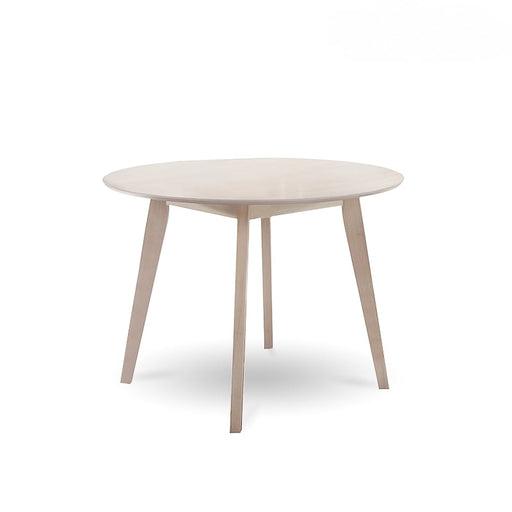 Round Dining Table Solid hardwood White Wash