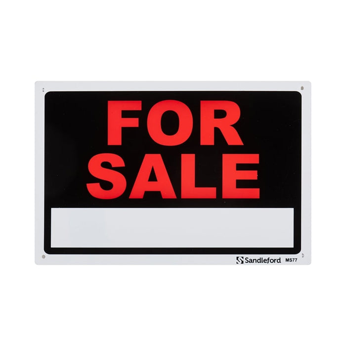 For Sale Plastic Sign goslash fast delivery fast delivery