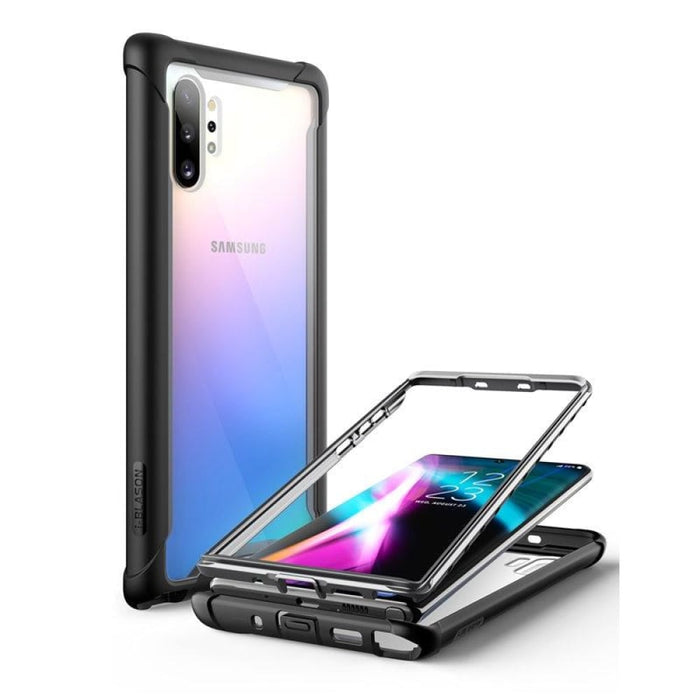 For Samsung Galaxy Note 10 plus - Ares Rugged Clear Bumper Case
