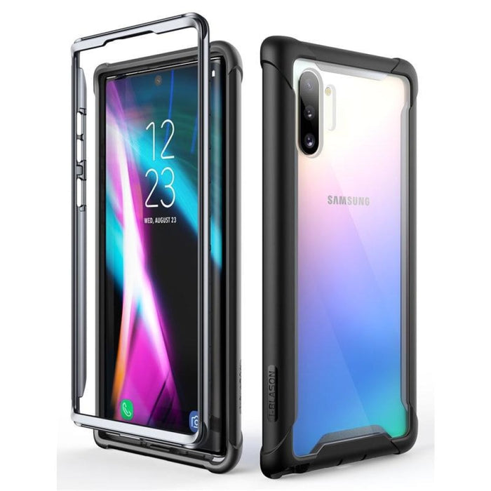 For Samsung Galaxy Note 10 Case (2019) Ares Full-body Rugged Clear Bumper Cover