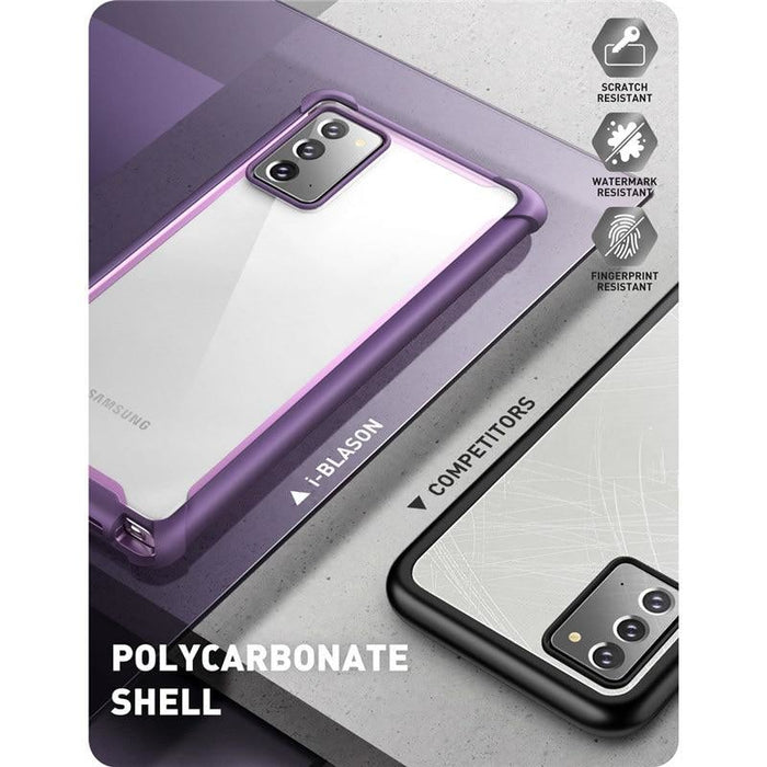 For Samsung Galaxy Note 20 - Ares Full-body Rugged Clear Bumper Cover