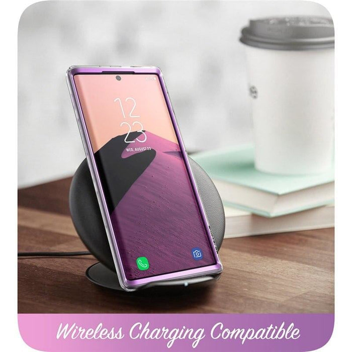 For Samsung Galaxy Note 20 -cosmo Full-body Glitter Marble Cover