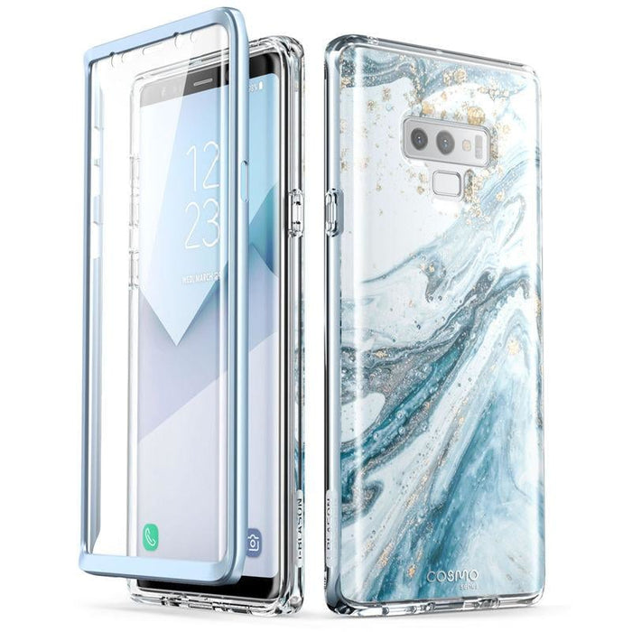 For Samsung Galaxy Note 9 Cosmo Glitter Marble Protective