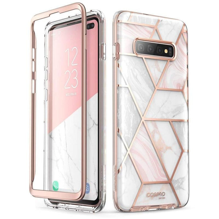 For Samsung Galaxy S10+/s10 plus - Cosmo Case Cover Marble /