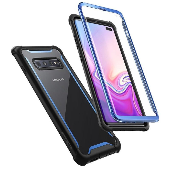 For Samsung S10 plus - Ares Rugged Case with Built-in Screen Protector