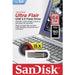 Sandisk 64gb Cz73 Ultra Flair Usb 3.0 Flash Drive Upto