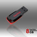 Sandisk Cruzer Blade CZ50 8GB USB Flash Drive