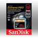 Sandisk Extreme Pro Cfxp 256gb Compactflash 160mb/s