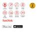 Sandisk Ixpand Mini Flash Drive Sdix40n 64gb Grey Ios Usb