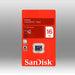 Sandisk Microsd Sdq 16gb - Electronics > Back Up & Storage