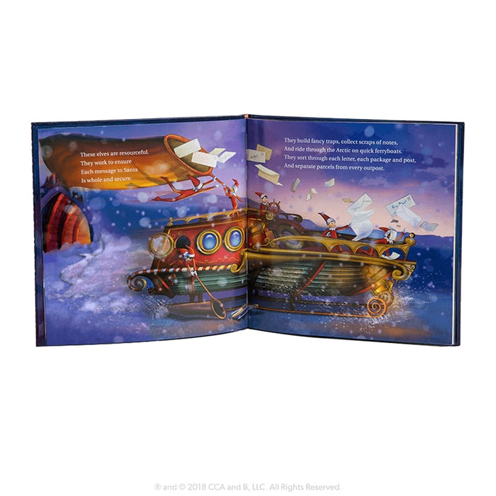 Scout Elf Express Delivers Letters to Santa goslash fast delivery fast delivery