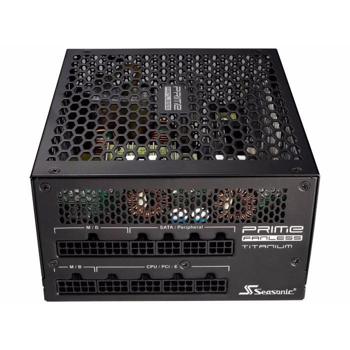 SeaSonic 600W PRIME Titanium Fanless PSU (SSR-600TL) goslash fast delivery fast delivery