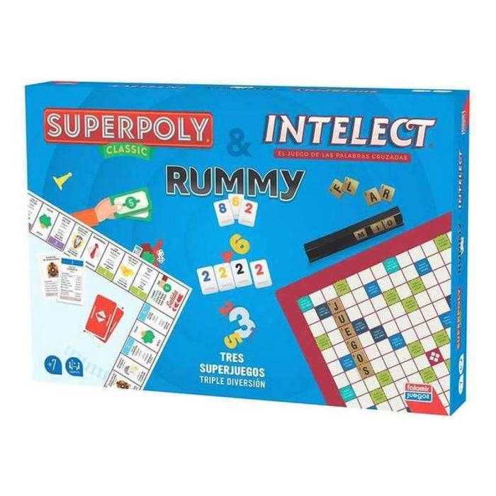 Set Falomir Superpoly Intelect & Rummy