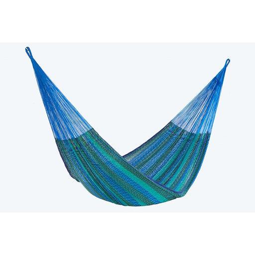 Single Size Cotton Mexican Hammock in Caribe Colour